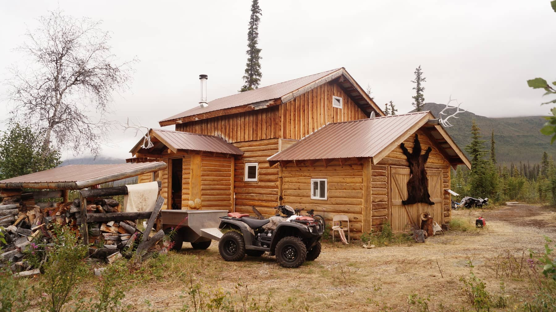 AK Hunting Lodge Remote