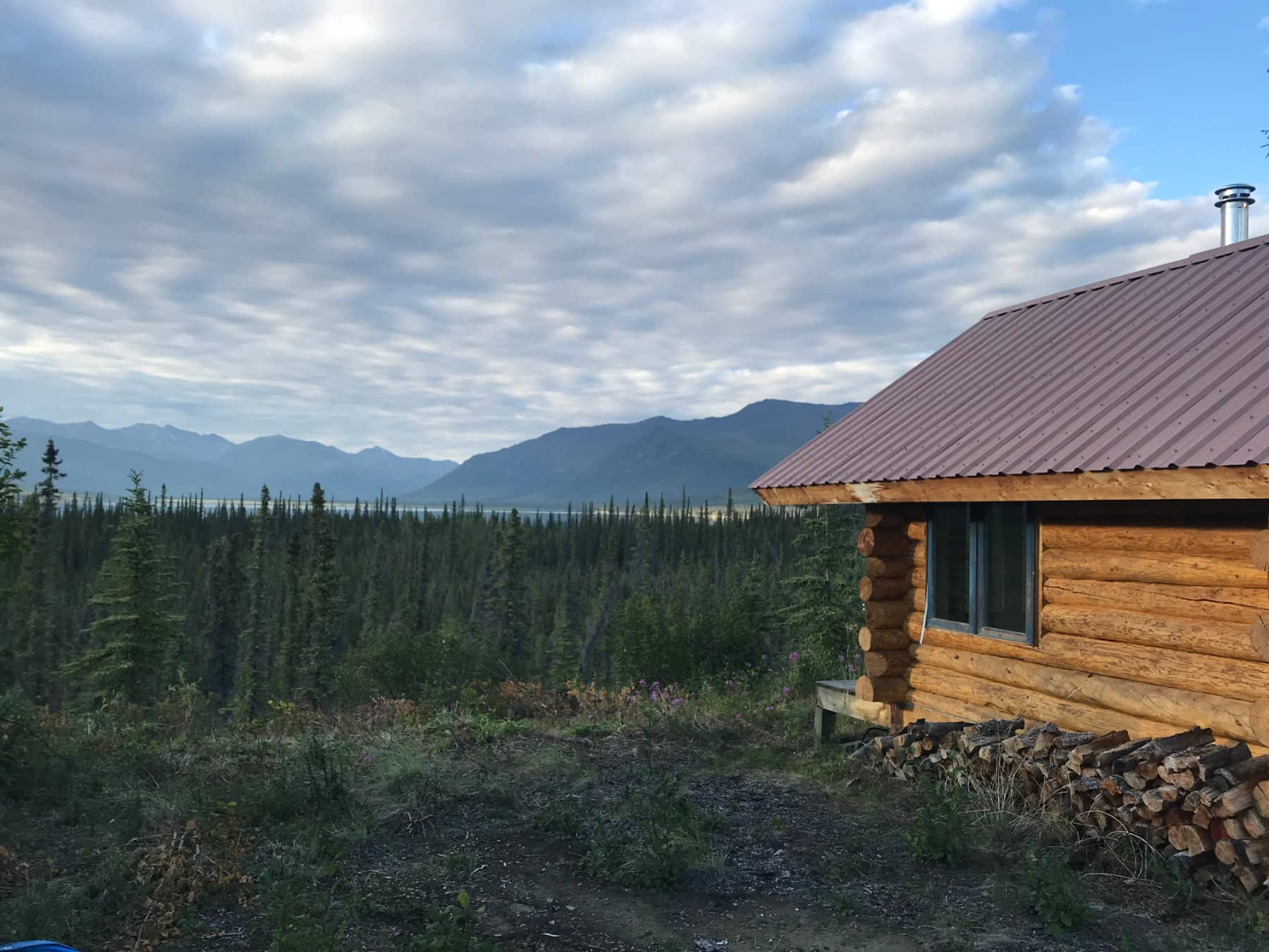 Remote Black Bear Hunting Lodge