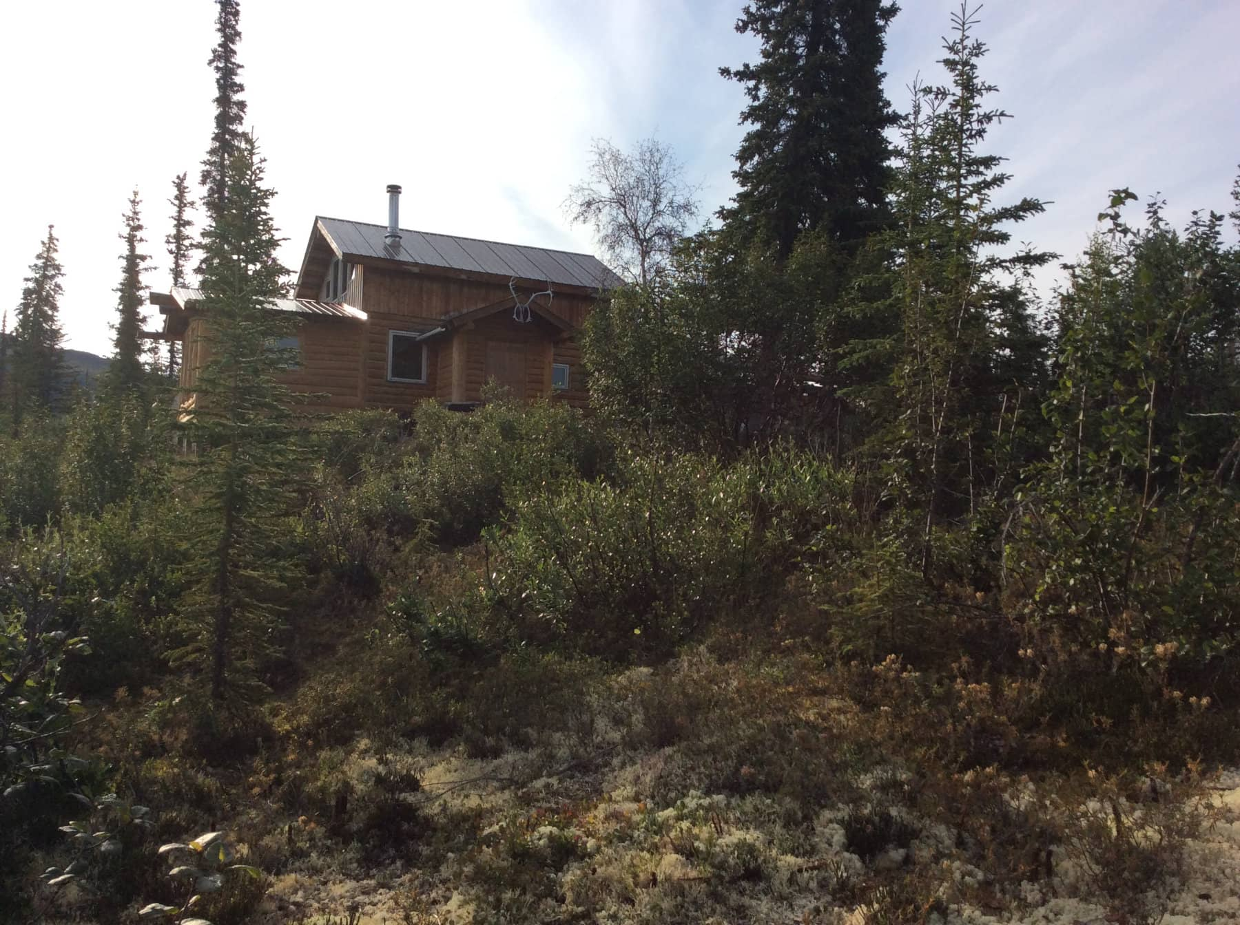 Remote Hunting Lodge