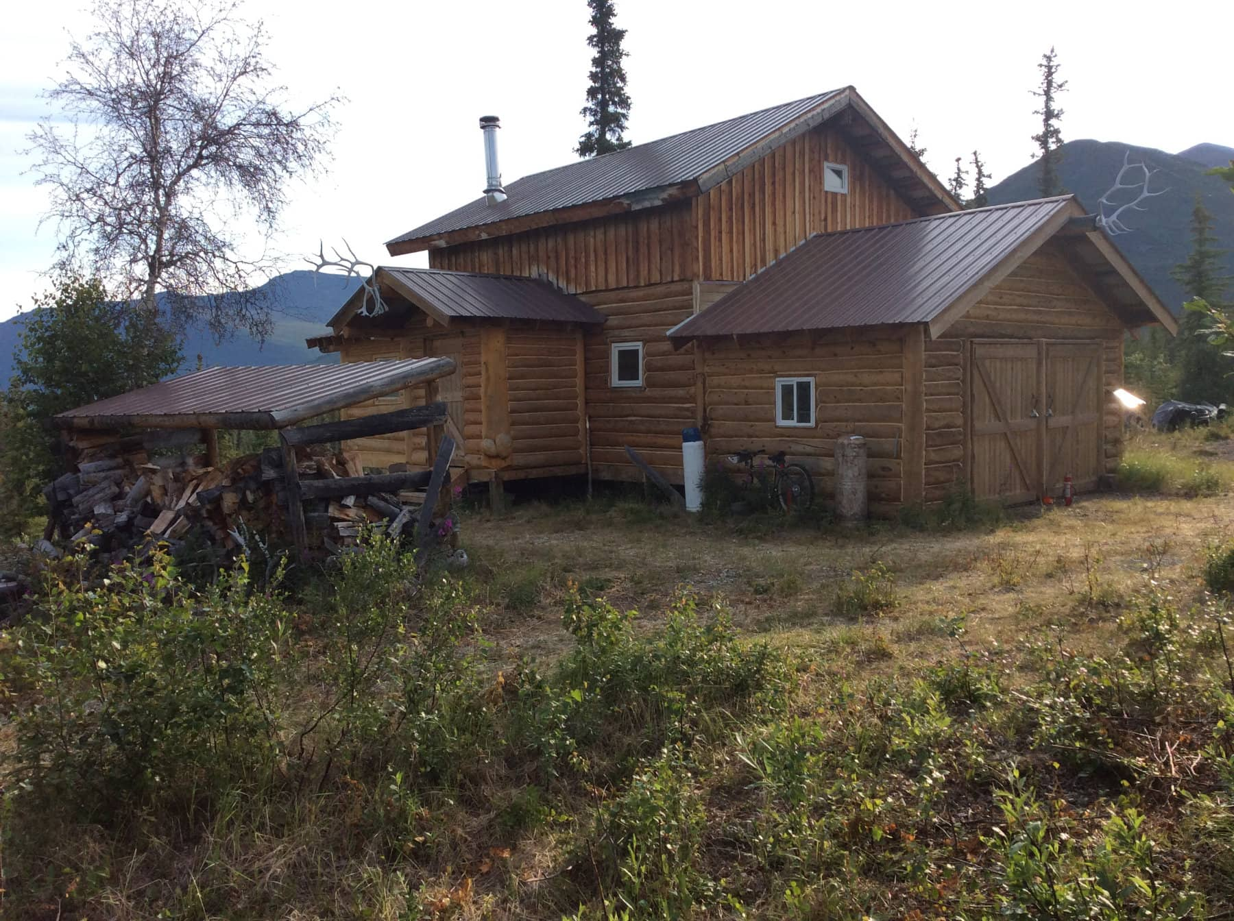 Remote Moose Hunting Lodge AK