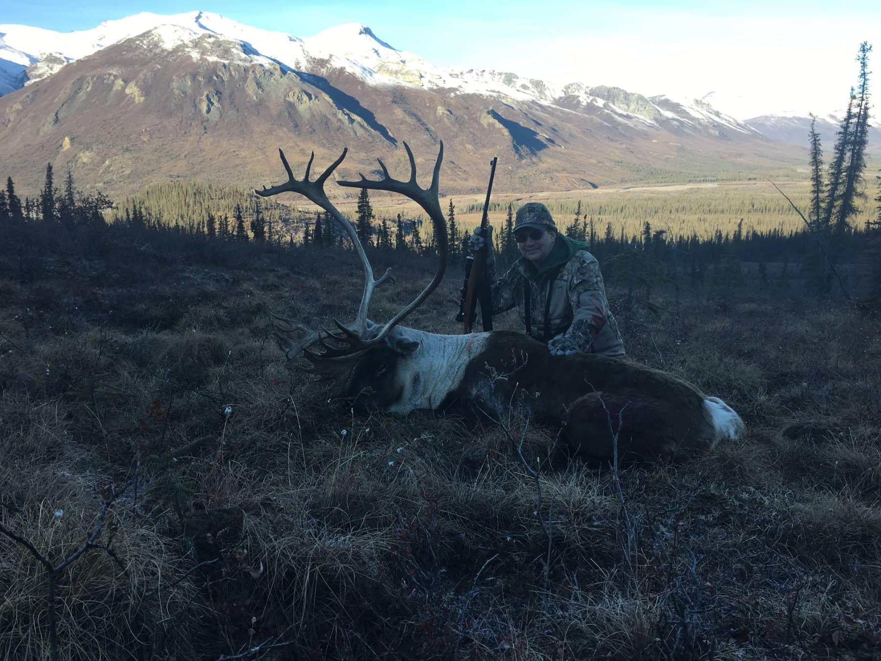 Caribou Hunt Alaska