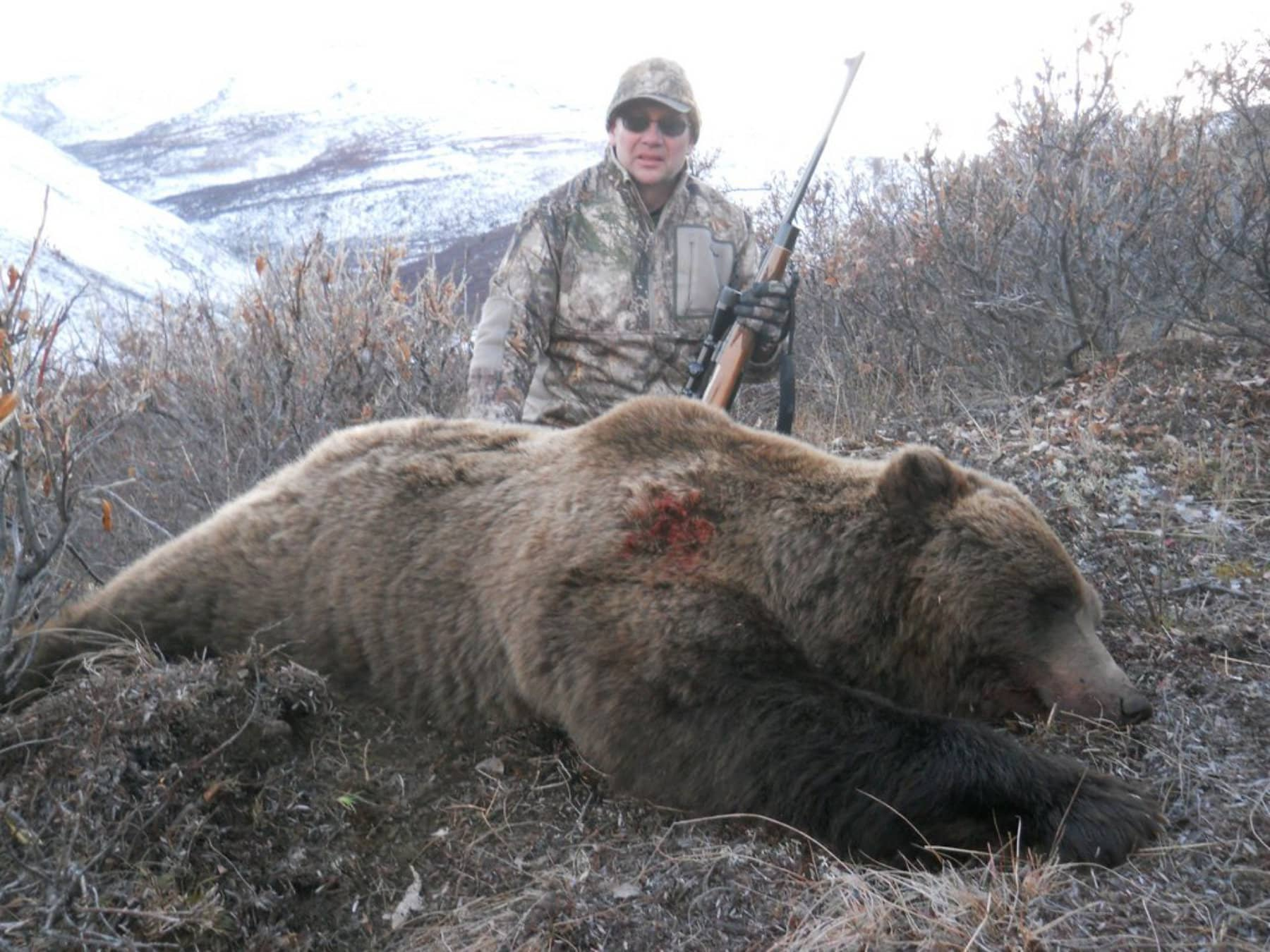 Guided Grizzly Hunt
